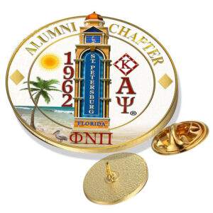 Alumni chapter lapel pin